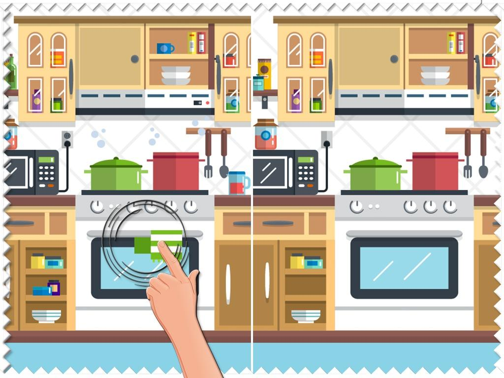 Kitchen spot the difference android apps on google play for Find a house online