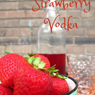 Vodka And Fresh Strawberry Drinks Recipes.