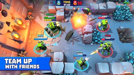 Tanks A Lot! - Realtime Multiplayer Battle Arena APK screenshot thumbnail 3