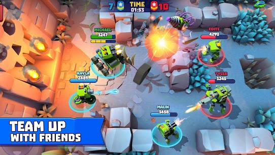 Tanks A Lot Mod Apk 2.53 (Menu Mod + Unlimited Ammo) 3