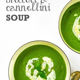Creamy Broccoli & Cannellini Soup Recipe