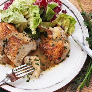 Easy Pan-Roasted Chicken Breasts with White Wine and Fines Herbs Pan Sauce Recipe