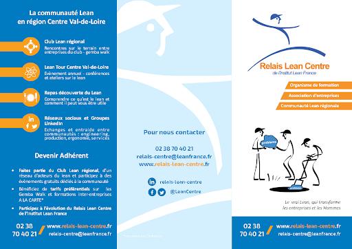 Brochure Formations Relais Lean Centre de l'Institut Lean France