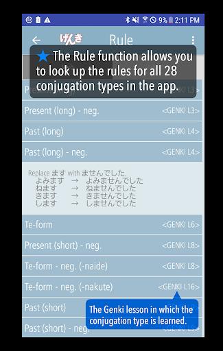 GENKI Conjugation Cards  Windows u7528 5