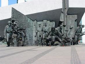 Photo: Poznávání Varšavy - virtuální prohlídka. Památník hrdinům Varšavského povstání.