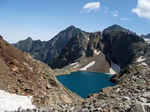 Photo: Lac Glace, 2659m, dal Col des Gourgs Blancs.