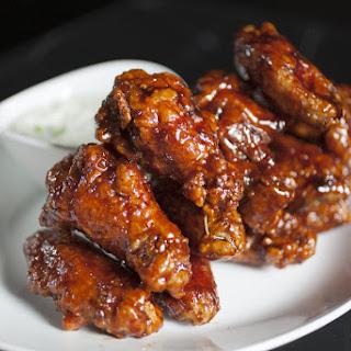 Slow Cooker Mahogany Chicken Wings Recipe