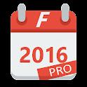 Formula Calendar 2016 PRO icon