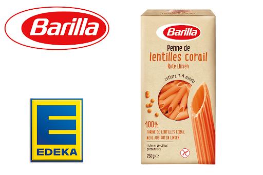 Bild für Cashback-Angebot: Barilla Penne aus Roten Linsen bei Edeka - Barilla