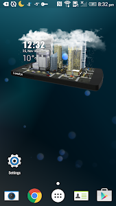 3D Mini Sky Super Widget Free screenshot 1