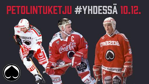 Mikael Kotkaniemi, Jari Korpisalo ja Petri Varis