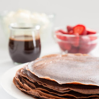 Chocolate Gluten Free Crêpes