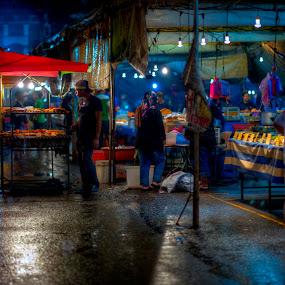 by Mohamad Sa'at Haji Mokim - City,  Street & Park  Markets & Shops