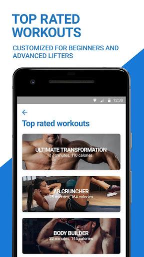 Fitness Buddy: Gym Workout, Weight Lifting Tracker 5.36.5534 screenshots 1
