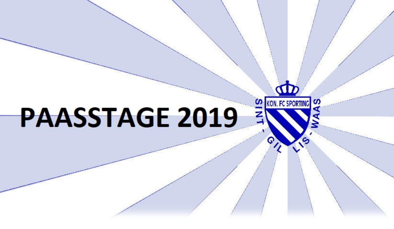 Inschrijvingen Paasstage van 16 t/m 19 april 2019