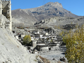 Photo: Dzong im Upper Mustang