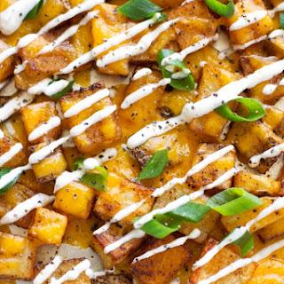 Cheesy Ranch Roasted Potatoes.