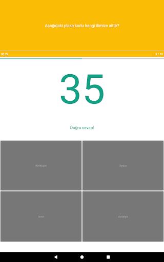 Harita Oyunu: Tu00fcrkiye - u015eehir Bulmaca 1.0.23 screenshots 13