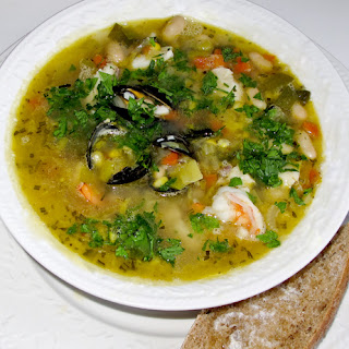 Fish And Seafood Stew.
