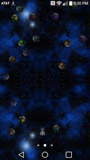 Meteor Blaster Live Wallpaper