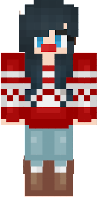 ItsFunneh Youtuber's skin christmas version