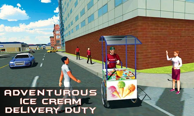 City Ice Cream Delivery - screenshot