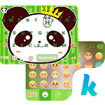 Cool Panda Kika Keyboard Theme 4.0 Apk