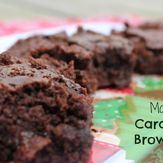 Moo's Caramel Brownies