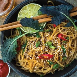 Honey-Garlic Noodles.