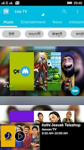 myplex Live TV for qatar screenshot 0