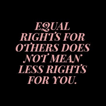 Equal Rights for Others - Instagram Post template