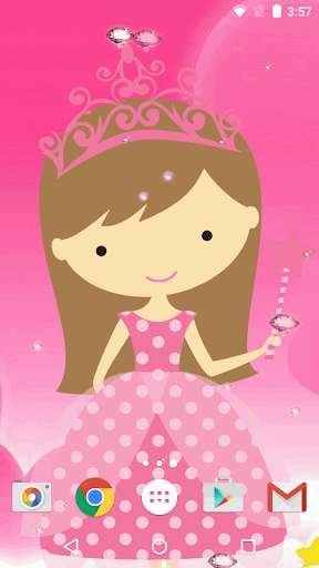 Cute Princess Live Wallpaper