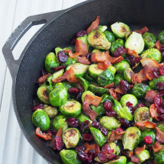 Pan Seared Brussels Sprouts.