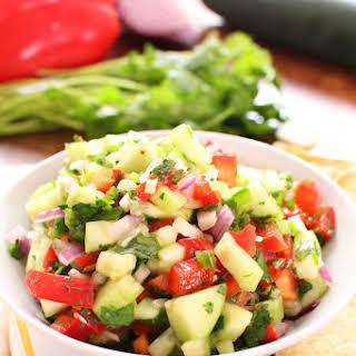 Cucumber Salsa.