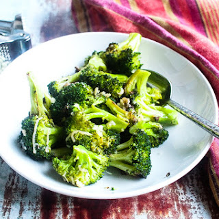 Roasted Broccoli with Garlic and Parmesan Recipe