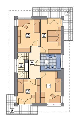 Sprytny - M226 - Rzut piętra
