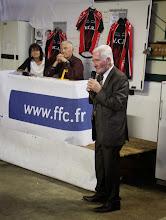 Photo: Discours de M. RIGAUD conseiller général.