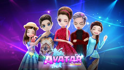 AVATAR MUSIK INDO - Social Dancing Game screenshot
