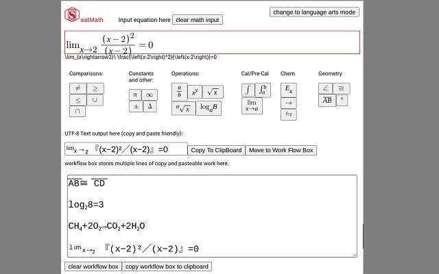 SeatMath: Forms-Friendly Equation Editor