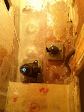 Photo: new black water discharge seacock on left and head sink drain seacock on right