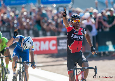 Greg Van Avermaet won exact 3 jaar geleden Parijs-Roubaix, voor Boonen was het zijn laatste wedstrijd