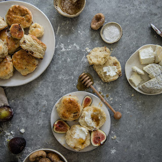 Fig, Goat Cheese, & Honey Biscuits