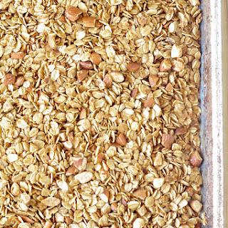 Homemade Maple Almond Coconut Oil Granola