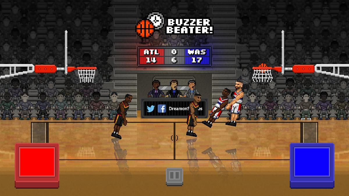 Bouncy Basketball- screenshot