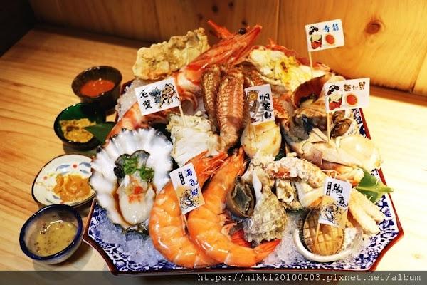 安東建一水產 台北必吃海鮮市集 台北日本料理推薦 經典手抓海鮮 中山區日本料理推薦