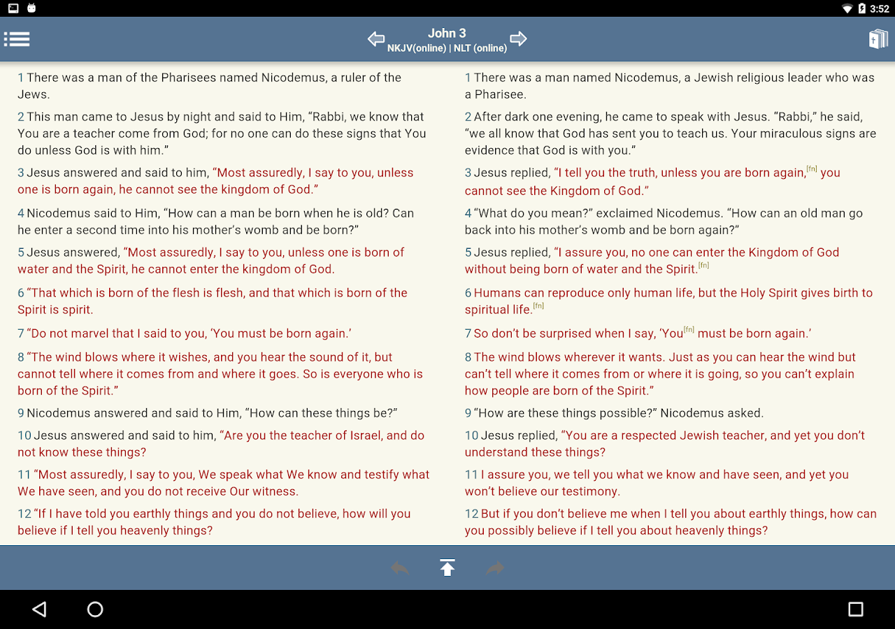 Blue Letter Bible- screenshot