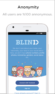 BlindID: Find Friends, Meet New People, Chat - náhled