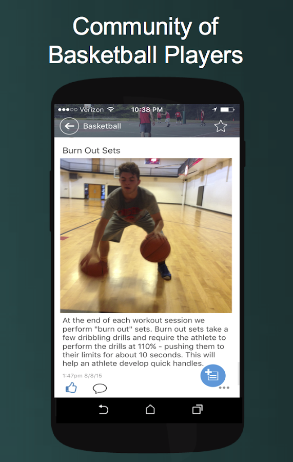 Image Led Improve At Basketball Step 6