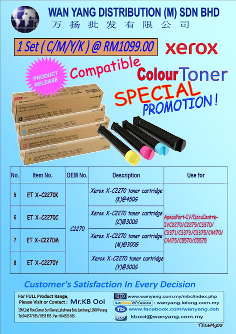 XEROX C2270 Compatible Copier Toner Cartridge