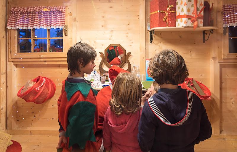 Bambini nella Casa di Babbo Natale di renzodid